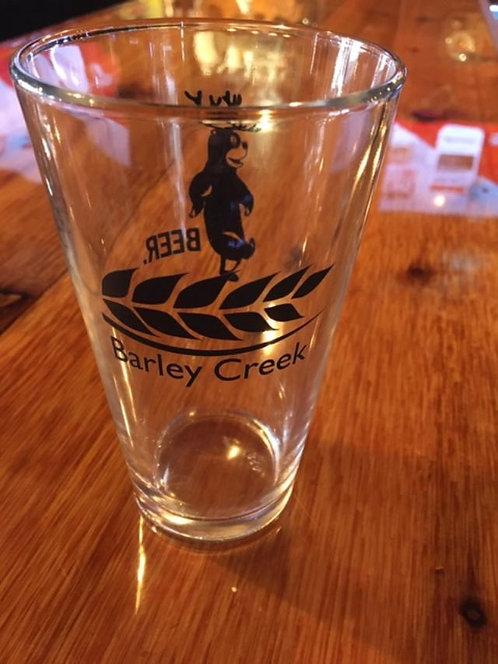 Barley Creek/BEER Pint Glass