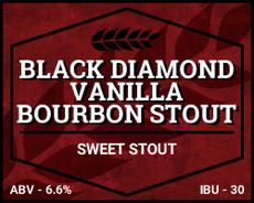 Black Diamond Vanilla Bourbon Stout