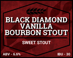 Black Diamond Vanilla Bourbon Stout