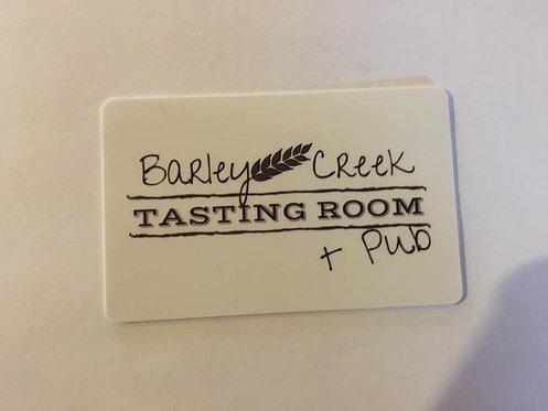 Barley Creek Tasting Room & Pub Gift Card