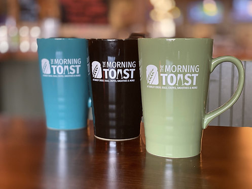 Morning Toast Travel Mugs