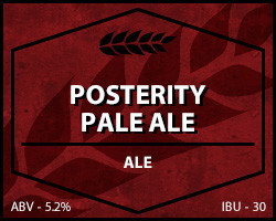 Posterity Pale Ale