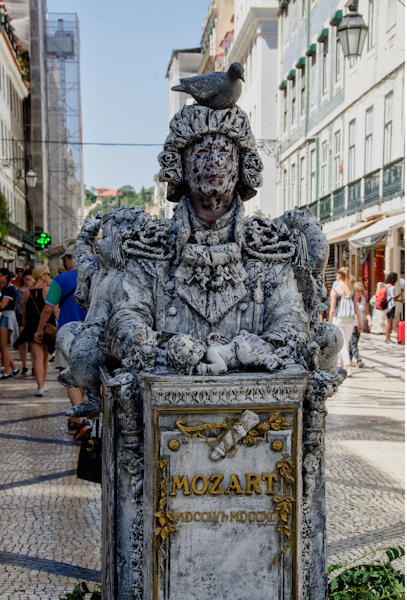 Estatua humana