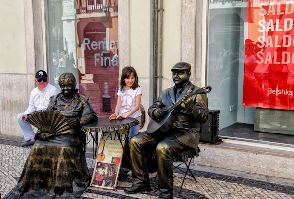 Estatuas humanas - Fado