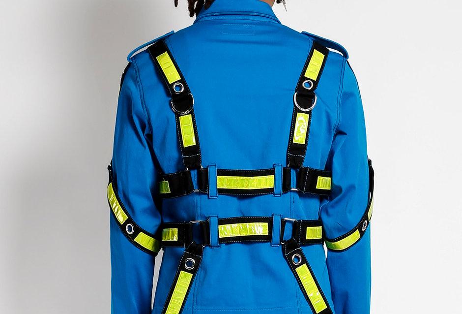 Tripp Blue Bondage Jacket