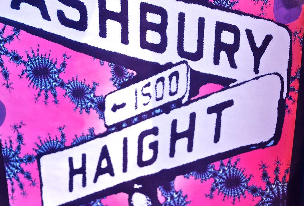 Haight Ashbury Fractal Poster