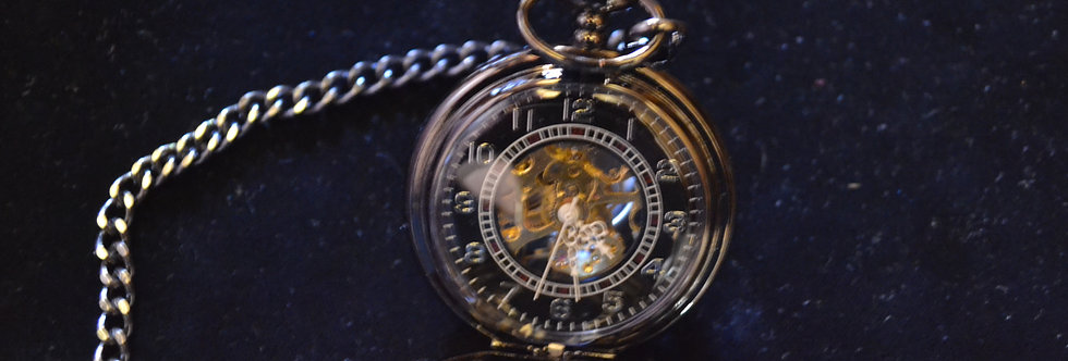 Pocket Watch in Black