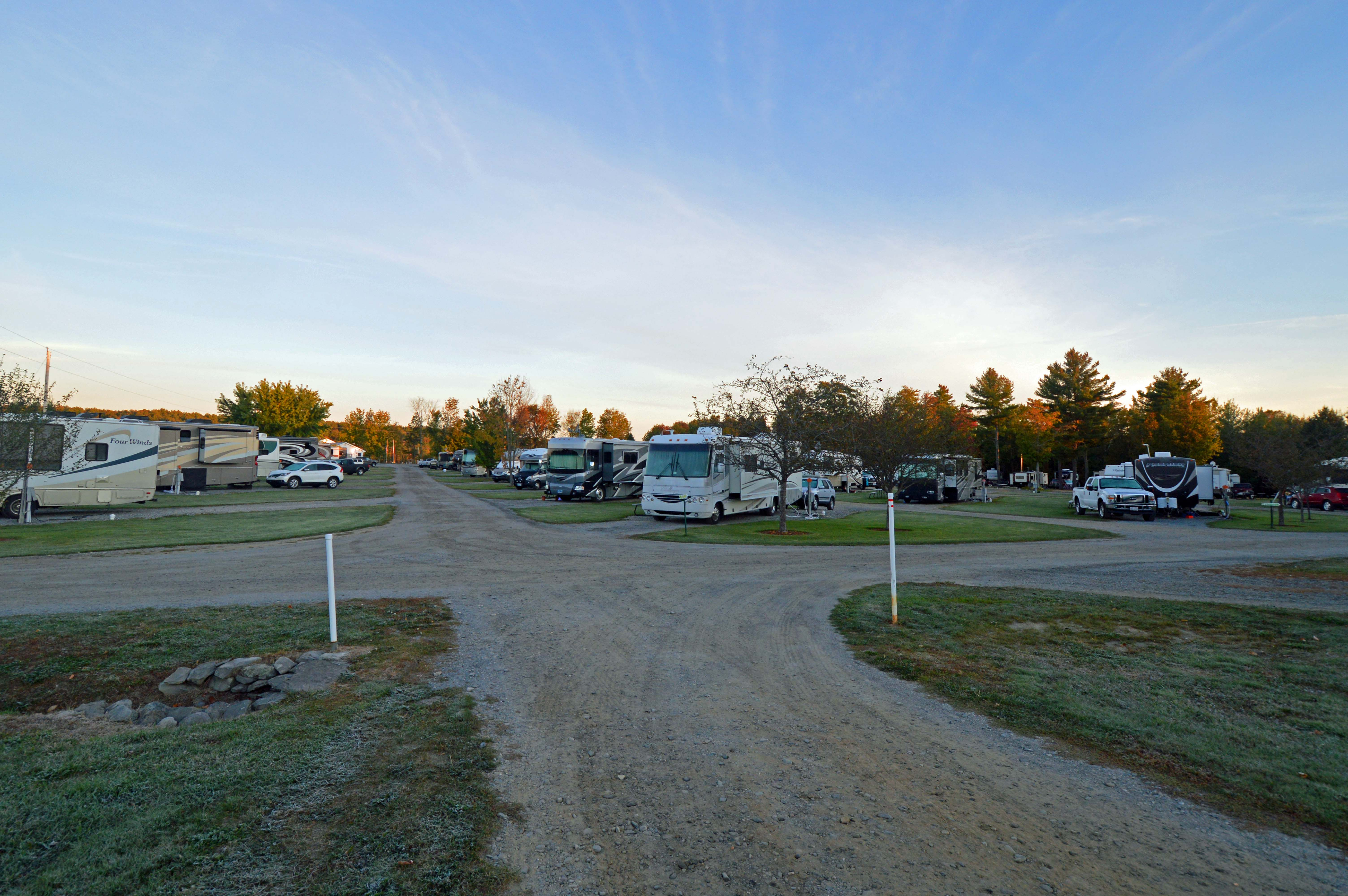 Motorhome parks in Maine