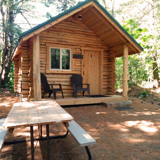 Cabin in a Quiet Setting