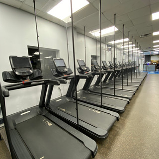 15 Treadmills Divided