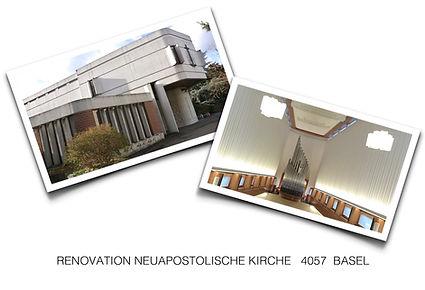 Renovation NAK Basel