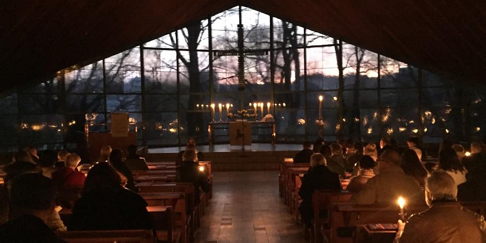 abgesagt - Gottesdienst zur Osternacht (Pfr. Freudenberg)