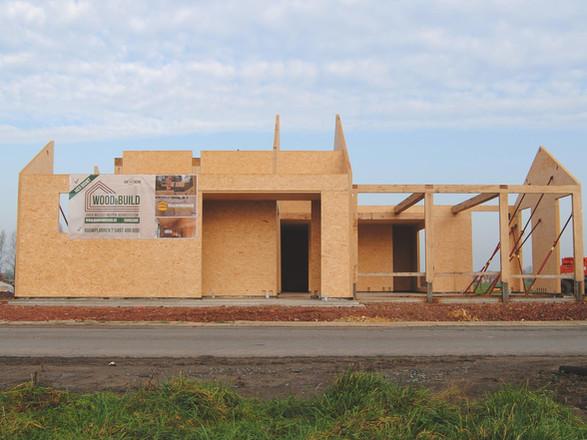 Wood & Build - Realisatie in Magnumboard