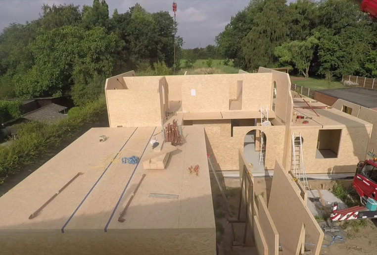 Wood & Build - Realisatie in MAGNUMBOARD - Zarren - Tilleman