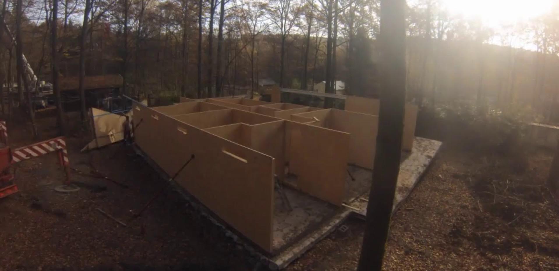 Wood & Build - Realisatie in MAGNUMBOARD - Cerfontaine - Demaerel