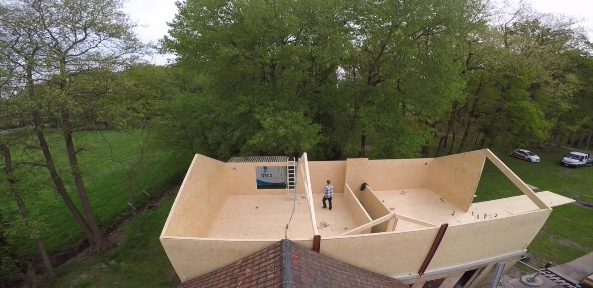 Wood & Build - Realisatie in Magnumboard - Brugge - Scouts