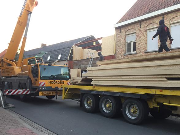 Wood & Build - Realisatie in Magnumboard - Handzame - Vandamme