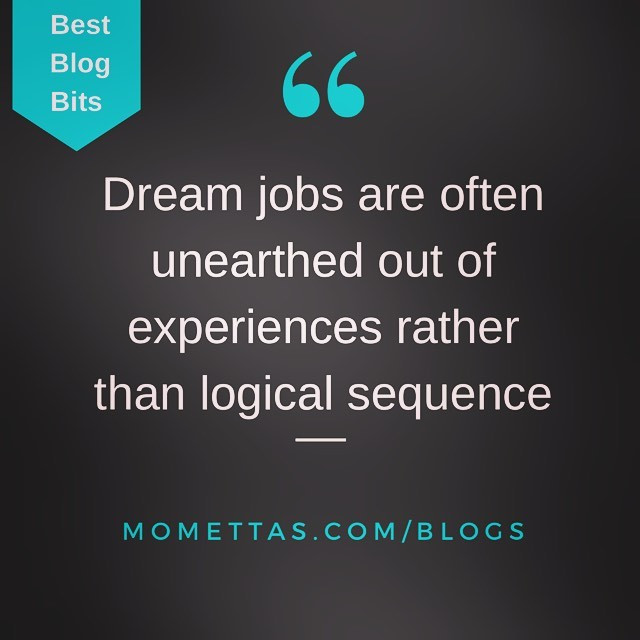 Blog: Why your dream job doesn't exist