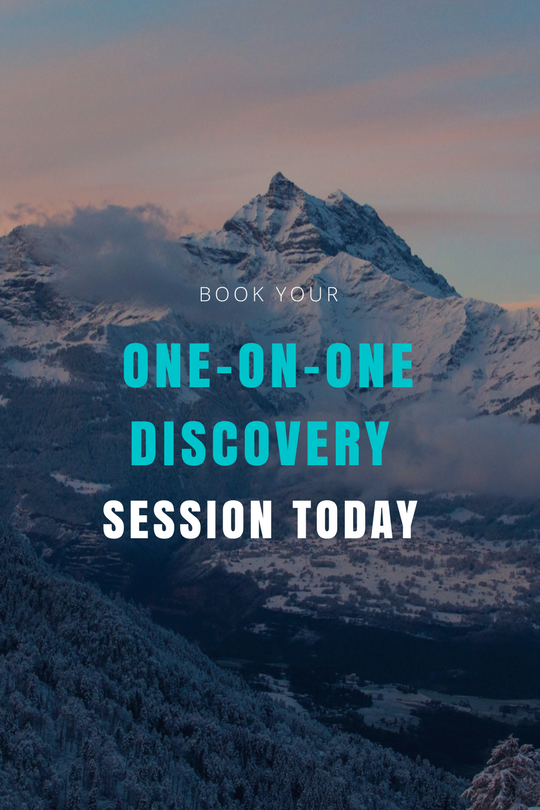 """Book your """"one-on-one"""" discovery session"""