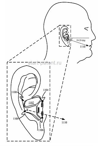 Apple запатентовала наушники с биометрическими датчиками