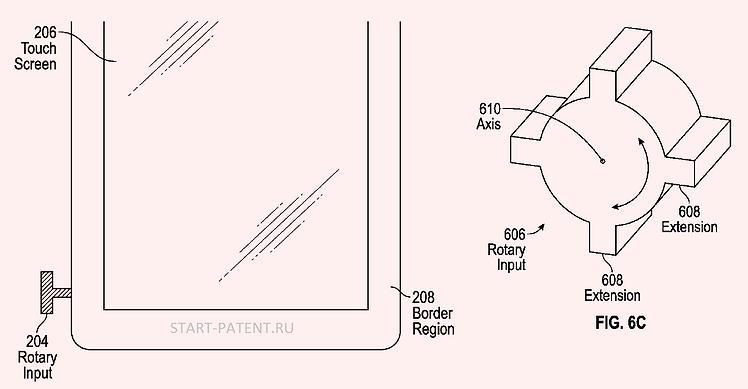 Apple предлагает новый элемент для управления смартфоном.