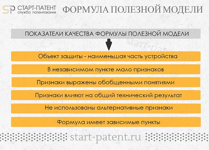 Формула плезной модели