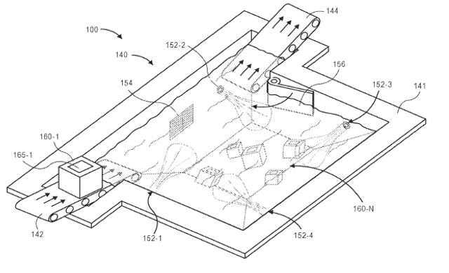 Amazon предлагает идею подводных складов