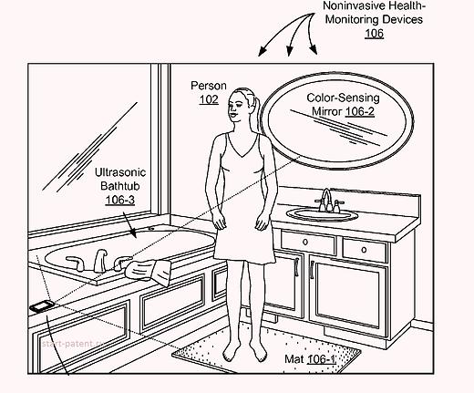 Googleпланирует использовать ванную комнату для диагностики организма