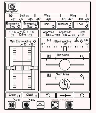 Запатентовано приложение для дистанционного управления яхтой