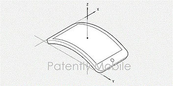 Патент Apple на изогнутый OLED дисплей