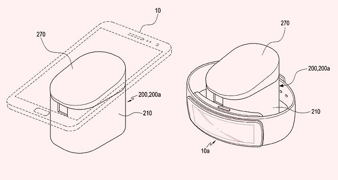 Патент Samsung на беспроводную зарядку