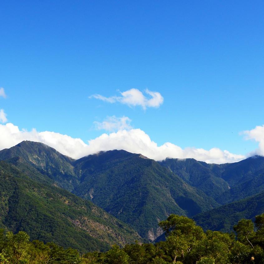 Mountains in Taiwan