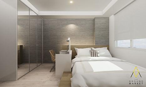 17042-Belmont Tower Athena-Bedroom-Open.