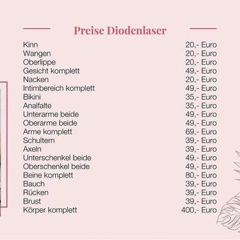 Preise Diodenlaser