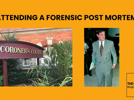 Attending a Forensic Post Mortem