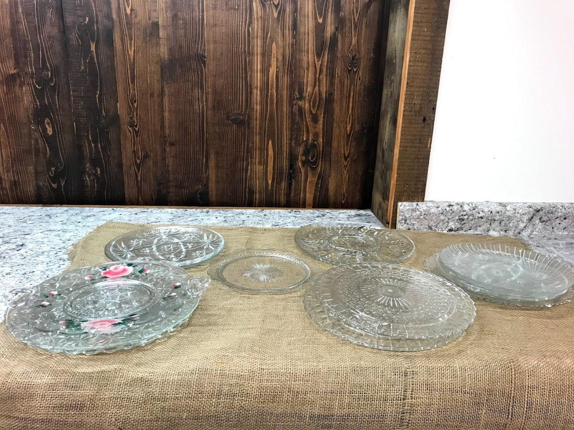 Glass trays