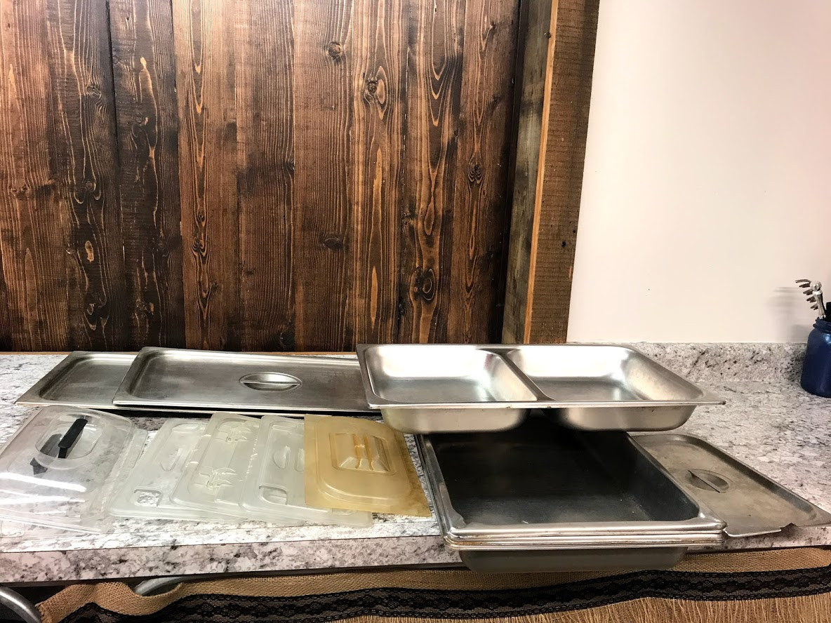 Steam table tops
