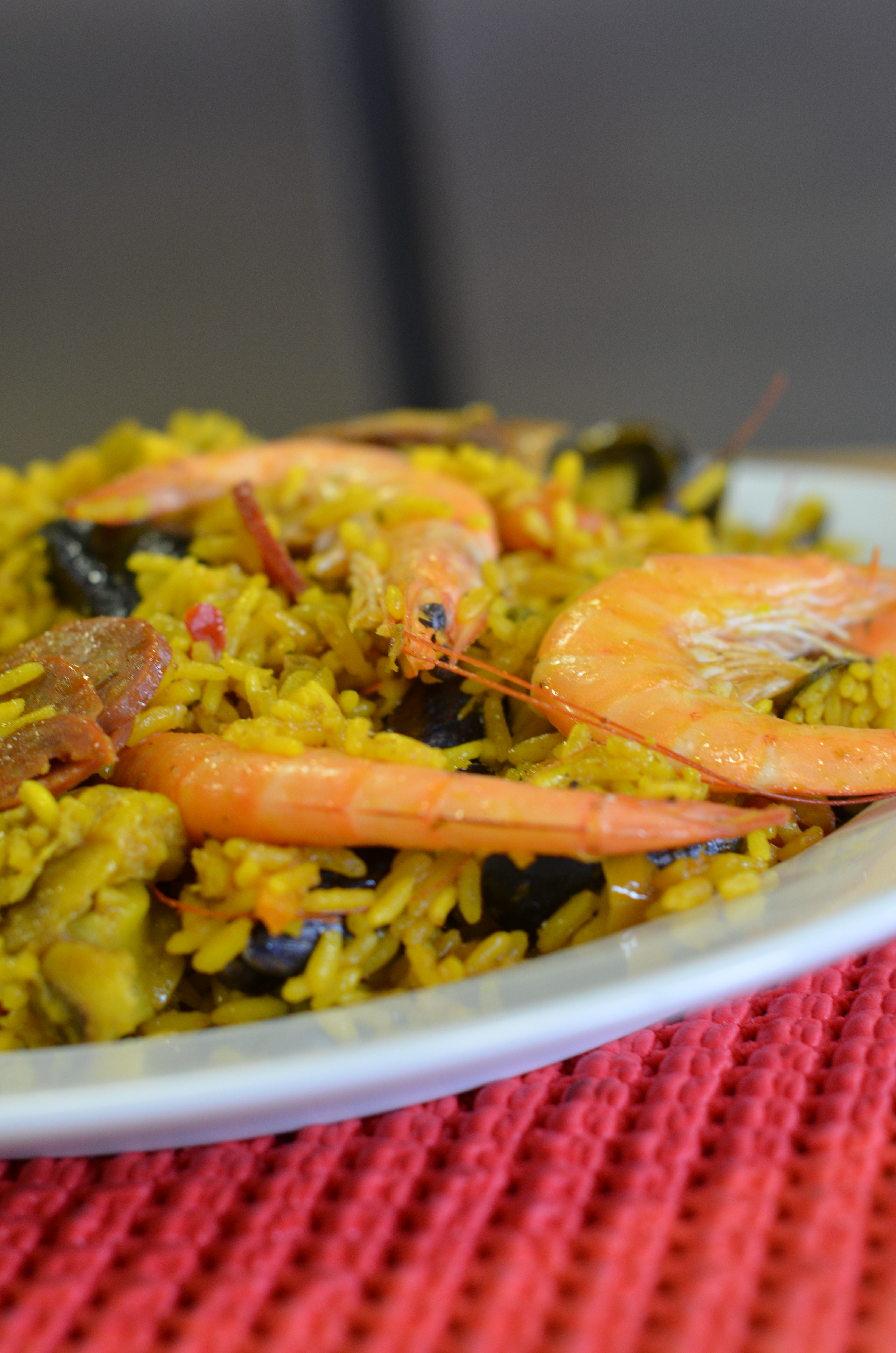 Une belle assiette de Paella