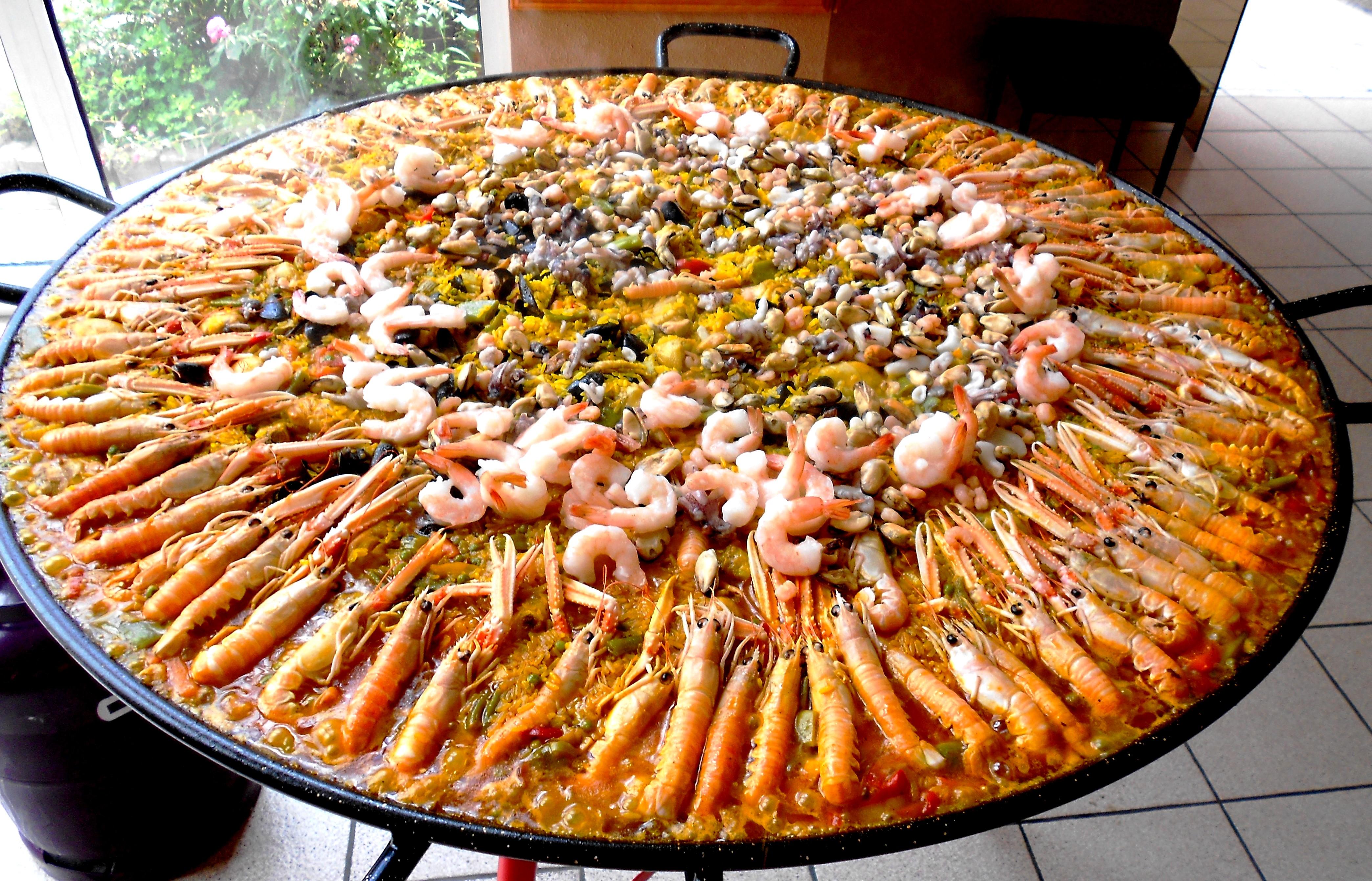 Notre Paella Royale de Luxe
