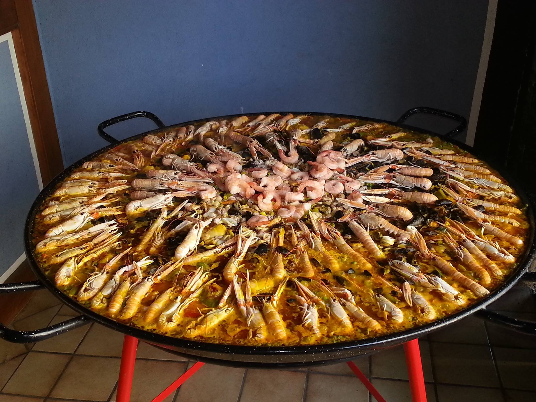 Paella Royale de Luxe
