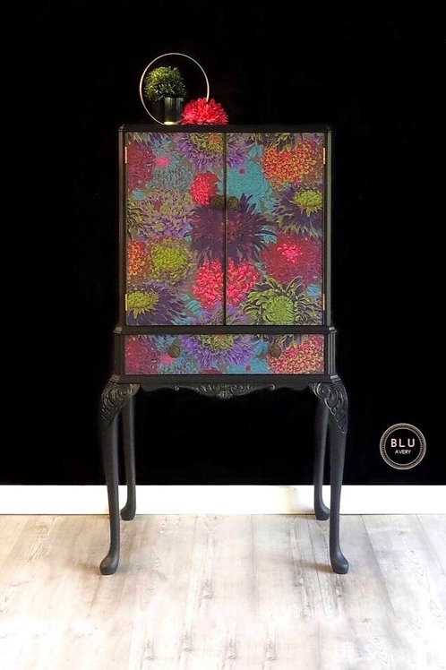 Statement Drinks Cabinet, Floral Drinks Cabinet