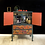 Thumbnail: Boho Blue and Orange Drinks Cabinet