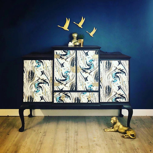 Chinoiserie Style Drinks Cabinet