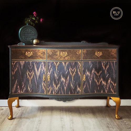 Sideboard, Thea Surfacphilia Decoupage Cabinet