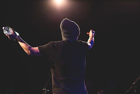 Auf der Bühne