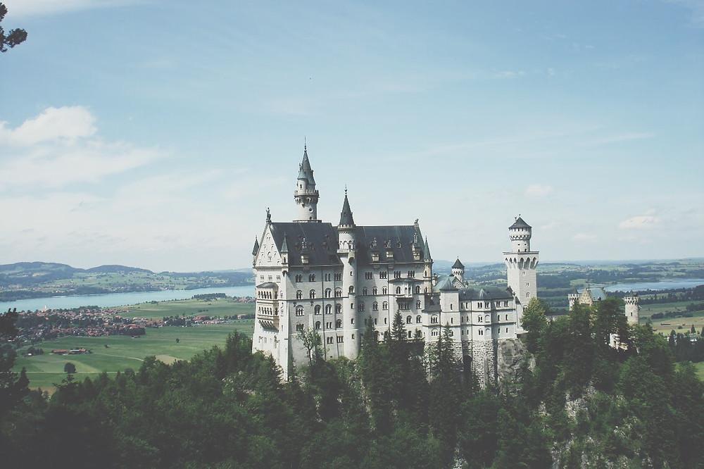 Neuschwanstein Castle, photo courtesy of Phillip Trey