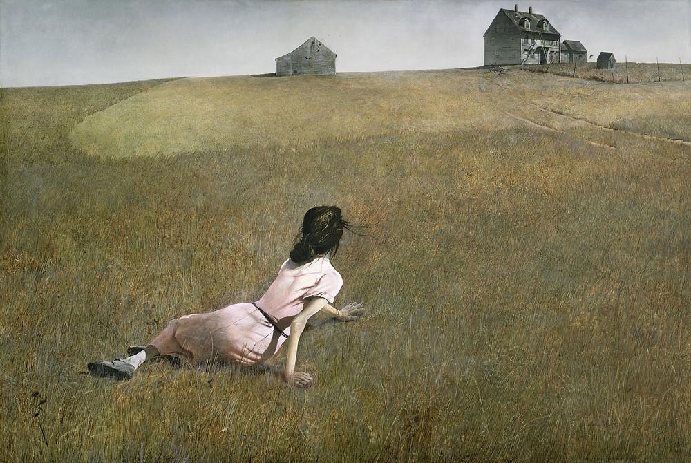 """Christina's World"" by Andrew Wyeth"