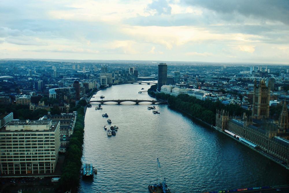 River Thames, London - Photo courtesy of Phillip Trey