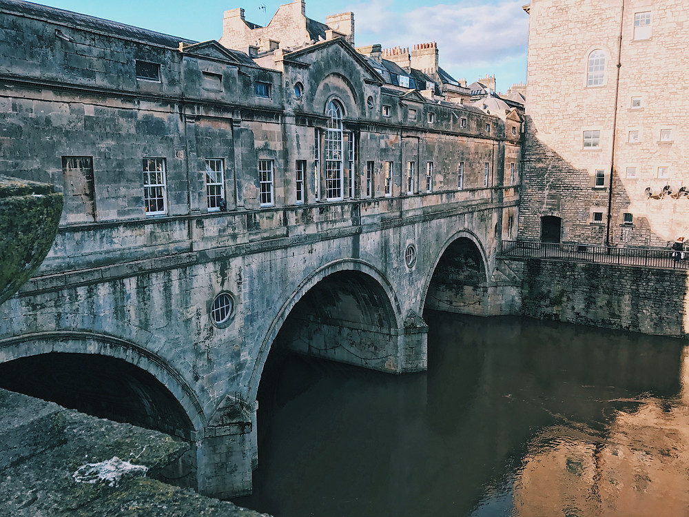 Pulteney Bridge and the River Avon; photo by Phillip Trey
