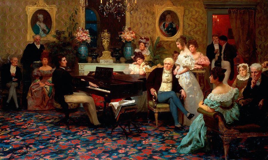 Painting by Henryk Siemiradzki, 1887